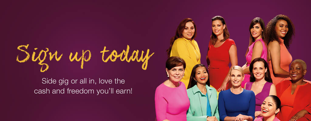 BE AN EMPOWERED BEAUTY BOSS. Side gig and all in, love the cash and freedom you'll earn! Sign up today.