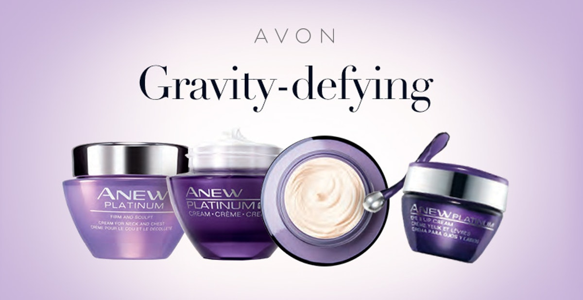Anew Platinum Anti-Aging Skincare For All Skin Types at AVON
