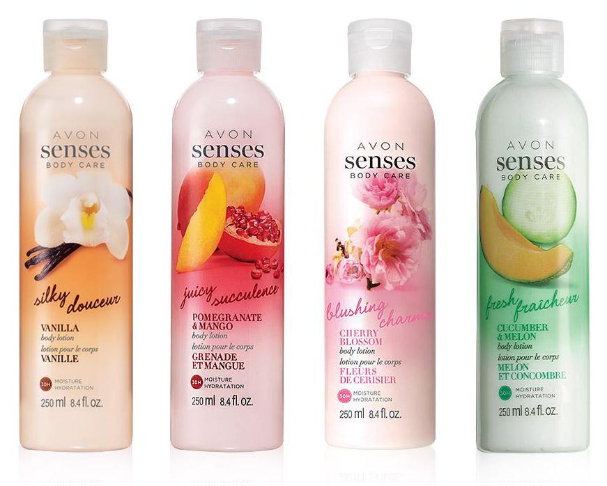 Avon Senses Body Lotion