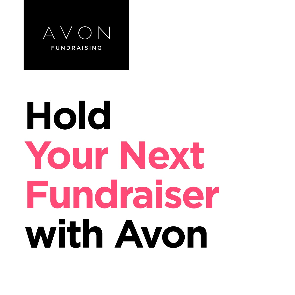 Hold Your Next Fundraiser with Avon