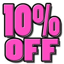 10% OFF $40 Order
