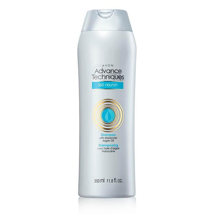 Advance Techniques 360 Nourish With Moroccan Argan Oil Shampoo