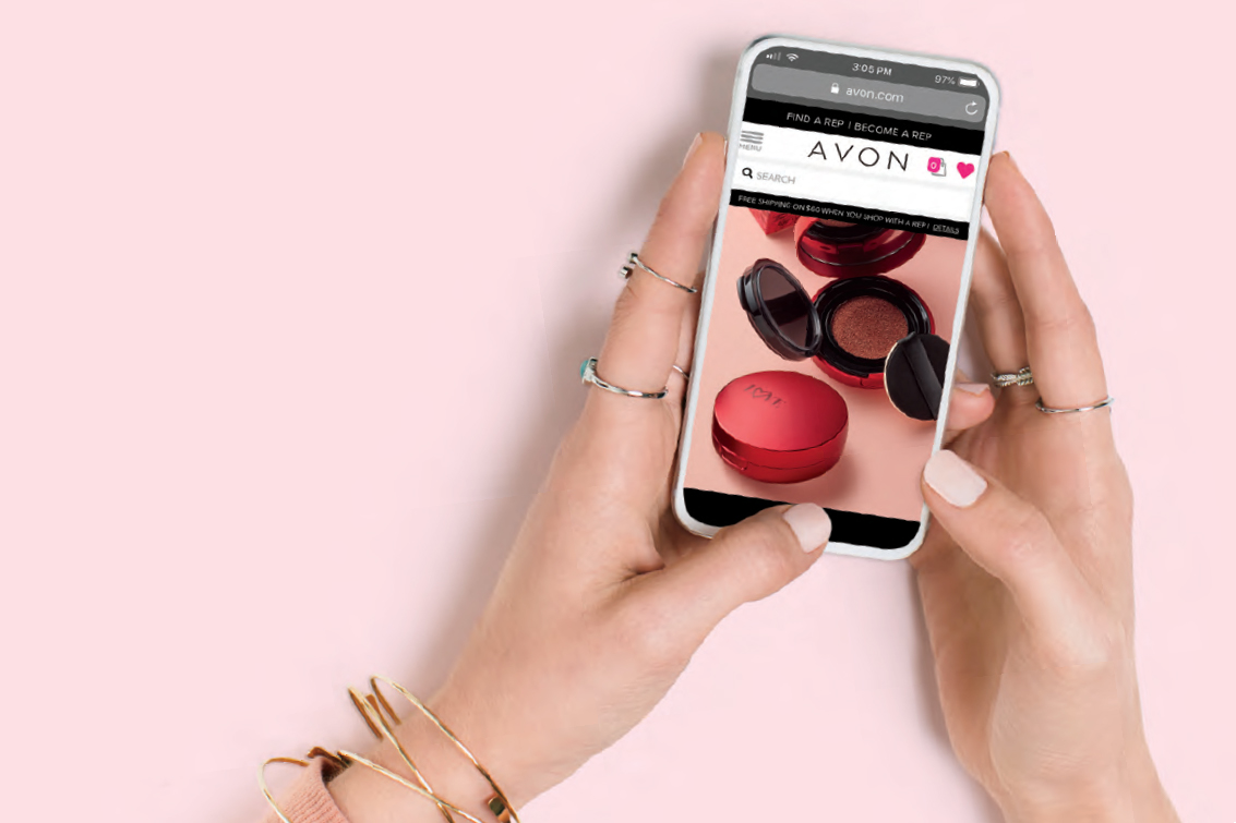 discover a new Digital Catalog personalized especially for you by your Avon Representative.