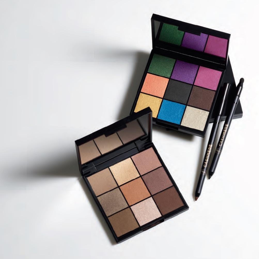 CASHMERE Eyeshadow Palette and 24HR Cream Eyeliner